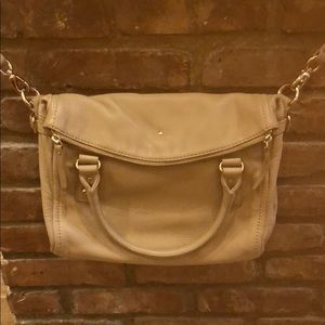 Kate spade tan hobo bag
